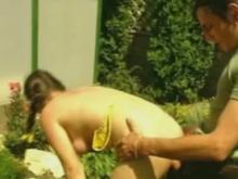 Du sexe dans le jardin